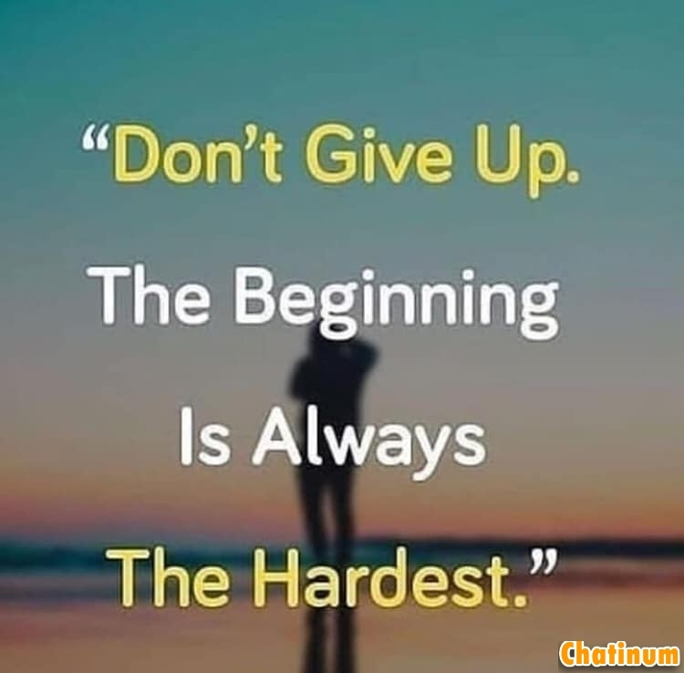 Dont Give up Life still goes on